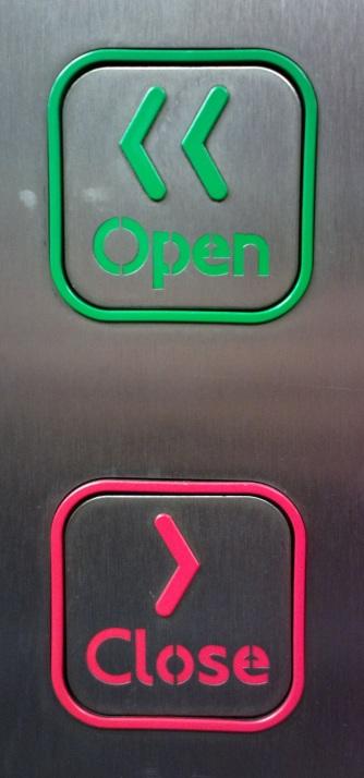 Underground Train Door Controls